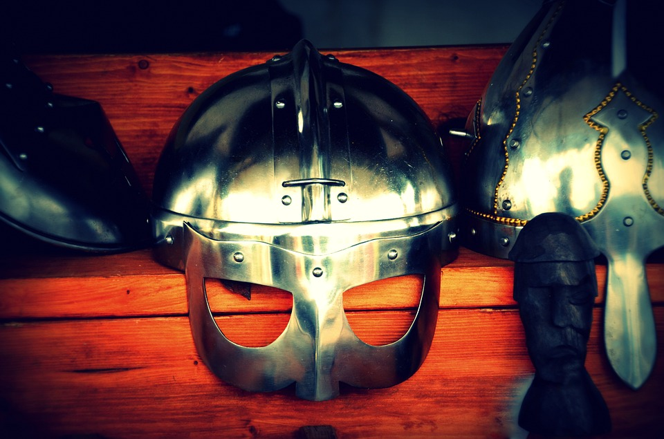 Viking, Helm, Historically, Warlike, Old, Armor