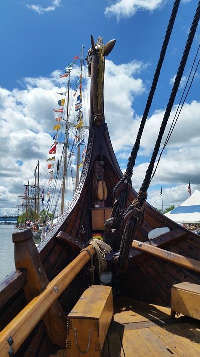 Viking, Viking Longship, Longship, Ship, Boat, Sea