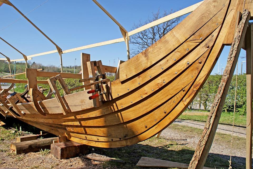 Viking Ship, Shipbuilder, Denmark