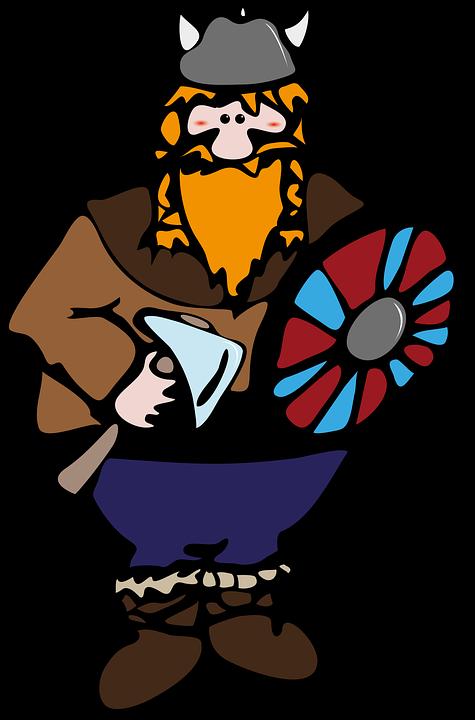 Viking, Guerrero, Man, Redhead, Beard, Vikings