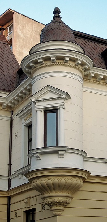 House, Window, Architecture, Villa, Design, Old Style