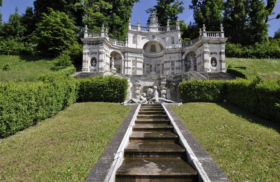 Architecture, Torino, Statues, Villa Della Regina