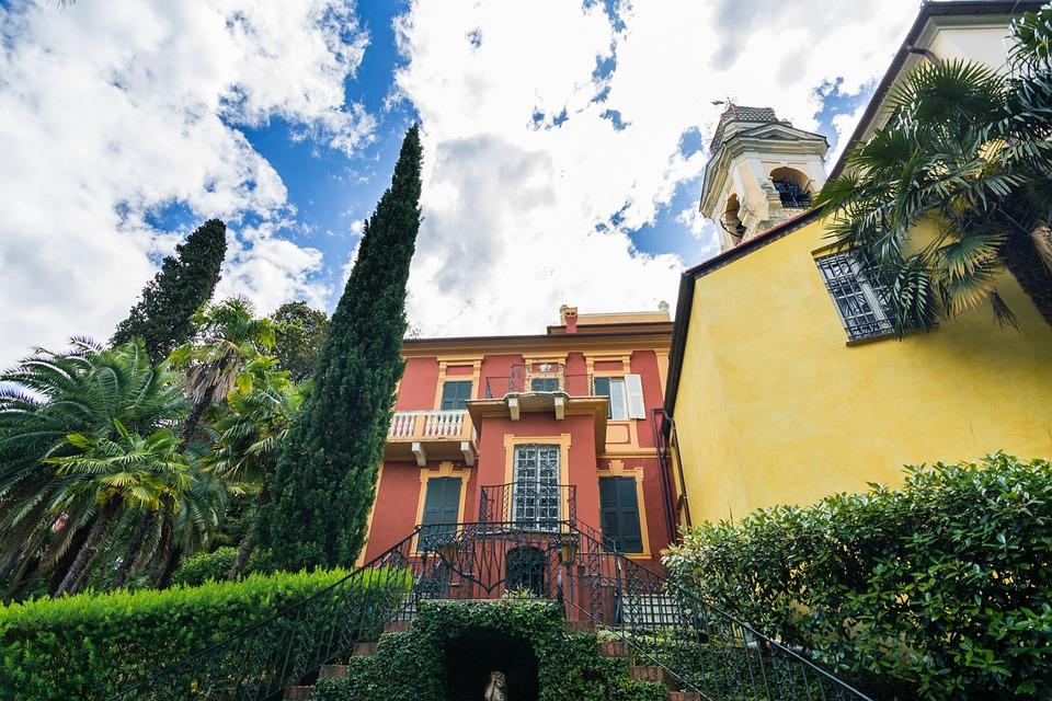 Big, Italian, House, Villa, Liguria, Italy, Summer