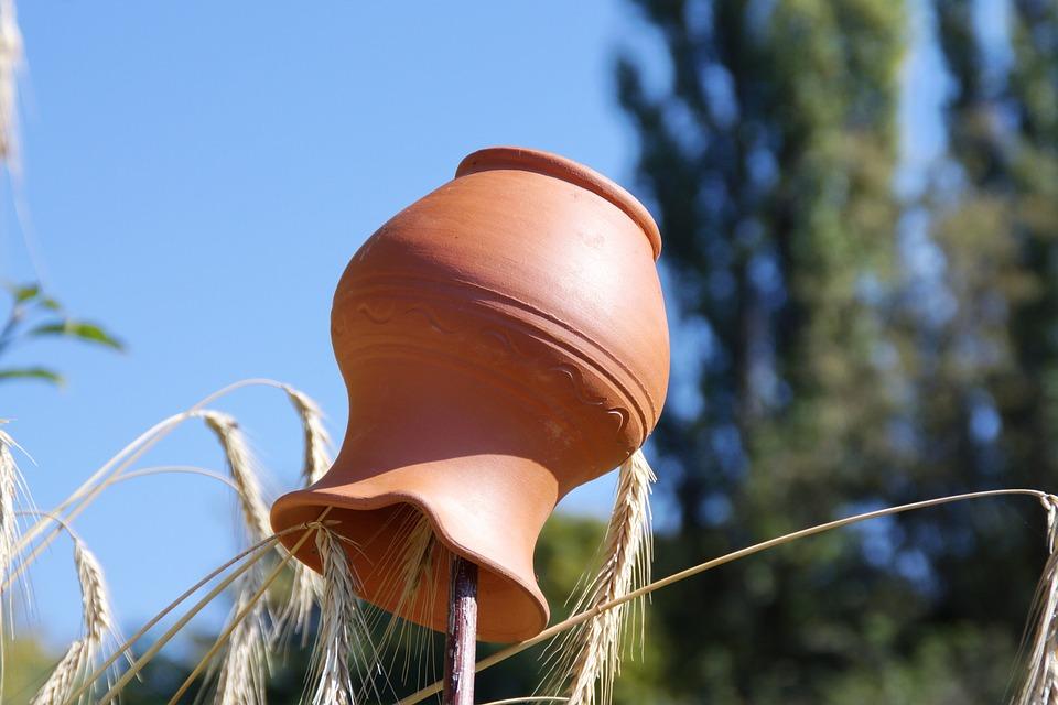 Pottery, Baked Clay, Still Life, Macro, Village