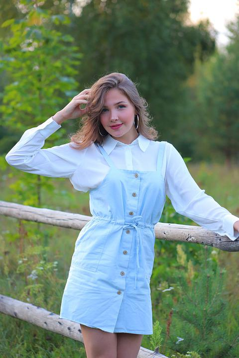 Beauty, Briansk, Bryansk Oblast, Village, Field, Girl