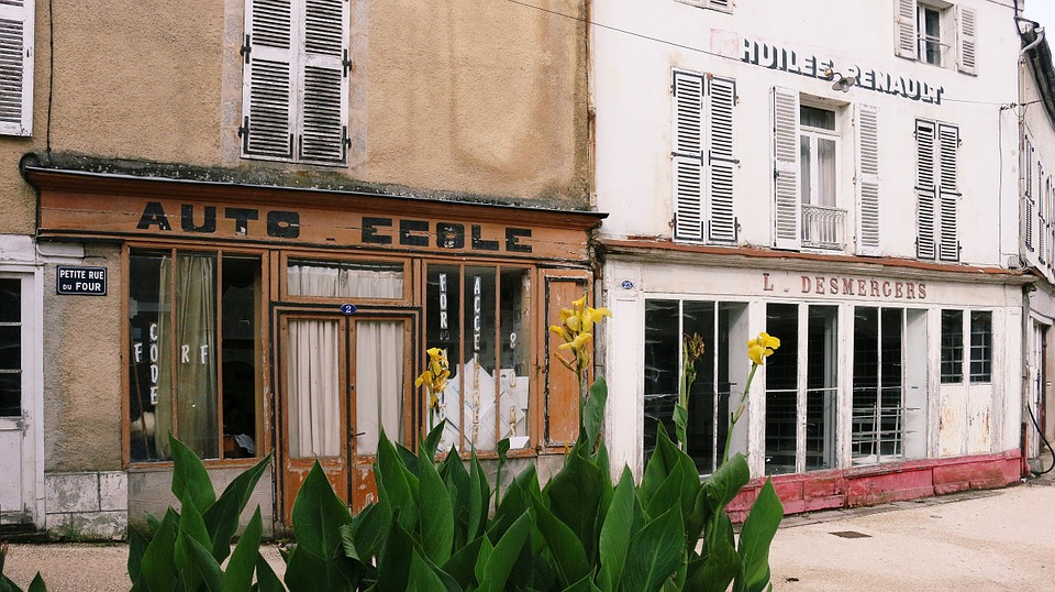 Auto School, Trade, Village, Lormes, Burgundy, Nièvre