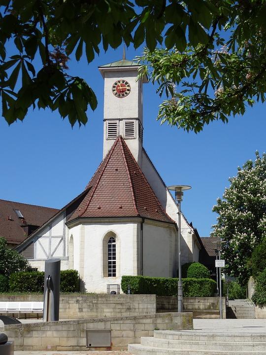 Village Church, Altbach, Neckar, Chapel Of St Ulrich
