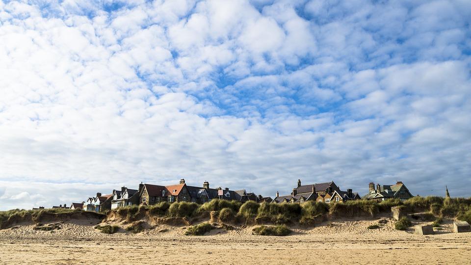 Alnmouth, Northumberland, Village, Beach, Coast, Travel