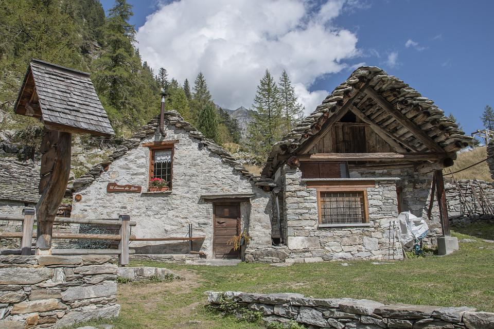 Stone Houses, Architecture, Countryside, Rural, Village