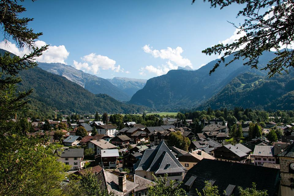 Samoens, France, Village