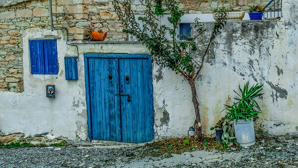 House, Door, Architecture, Traditional, Street, Village