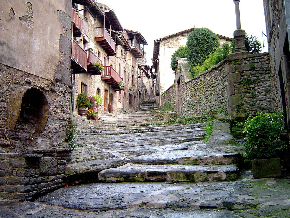 Street, Houses, Village, Rustic, Old, Medieval