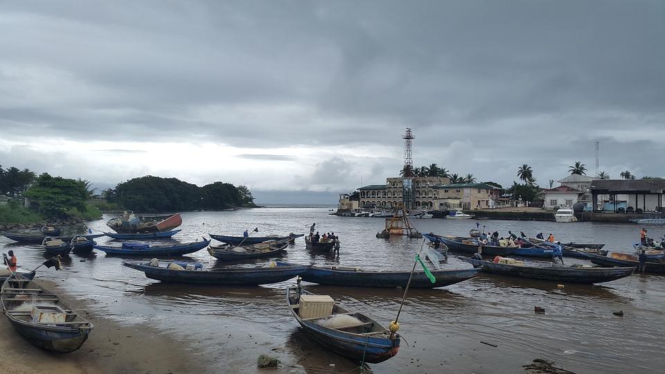 Cameroon, Fishing Village, Village Life, Village, Work