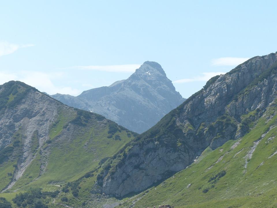 Lailachspitze, Mountain, Alpine, Vilsalpseeberge