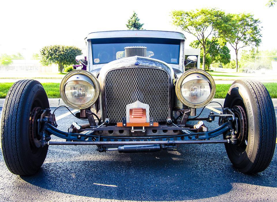 Free photo Vintage Antique Auto Vehicle Old-fashioned Car - Max Pixel