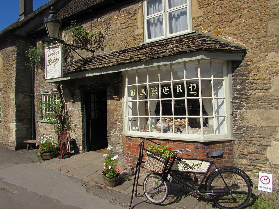 Bakery, Village, Vintage, Rustic, Cuisine, Bake, Cafe