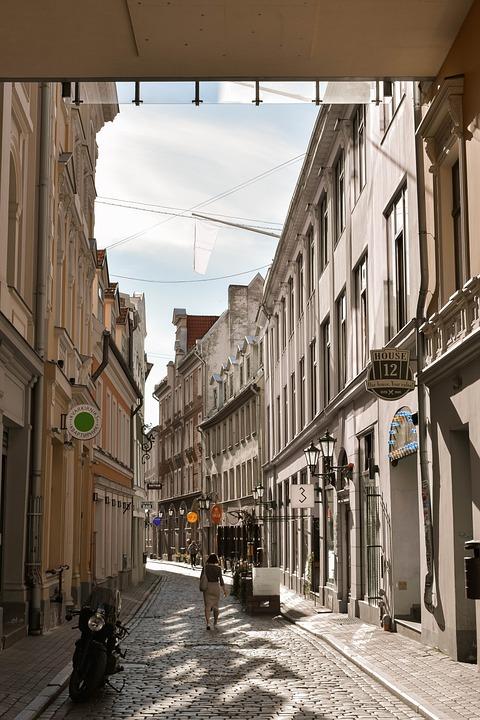 Street, Houses, Building, Town, Old, Vintage