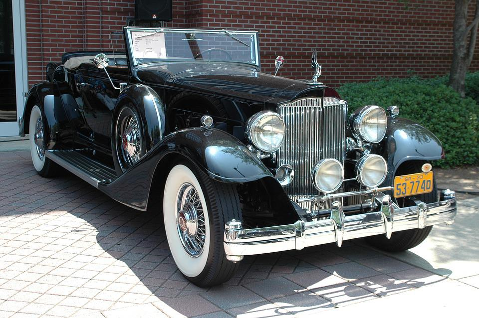 Free photo Vintage Car Classic Automobile Transportation - Max Pixel