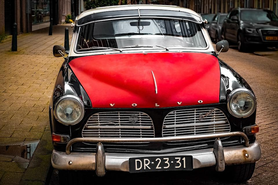 Free photo Vintage Car Volvo Automobile Red Classic Cars - Max Pixel