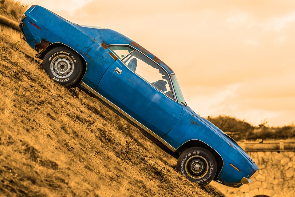 Car, Retro, Vintage Cars, Classic, Plymouth, Barracuda