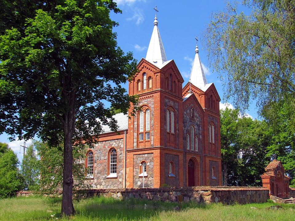 Church, Catholicism, Christianity, Vintage
