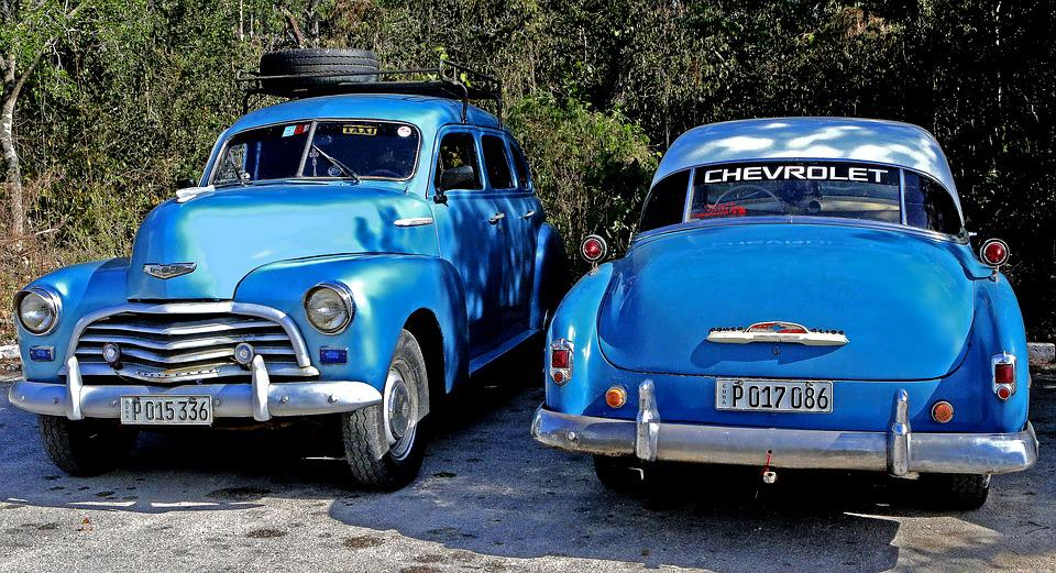 Free photo Vintage Classic Antique Cars Old Car Cuba - Max Pixel