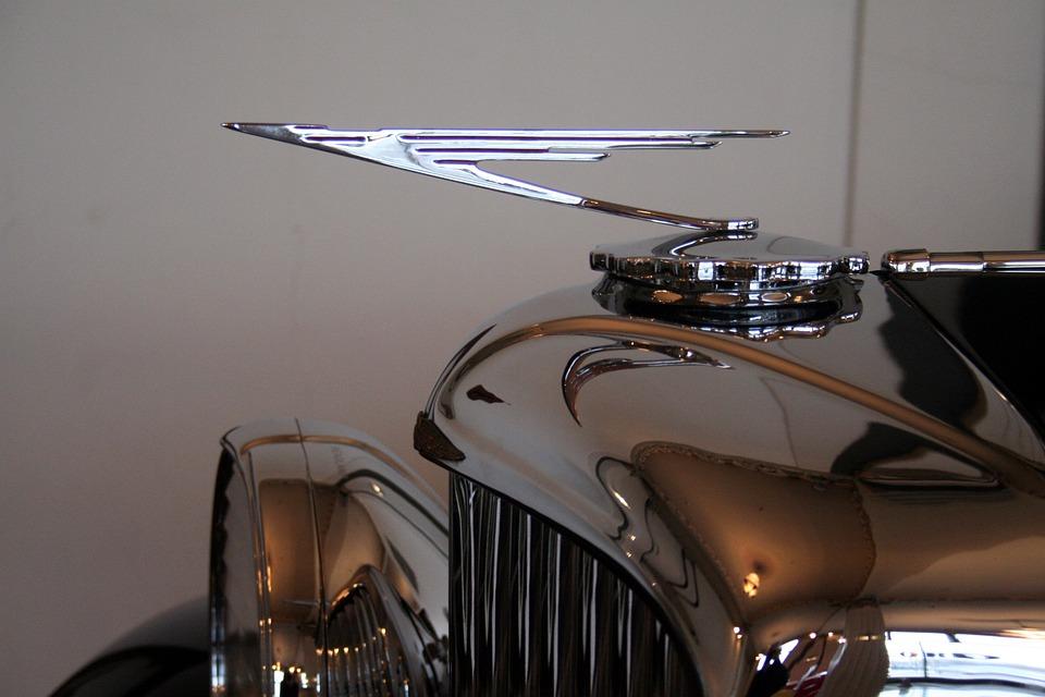 Hood Ornament, Antique, Car, Vintage, Old, Classic