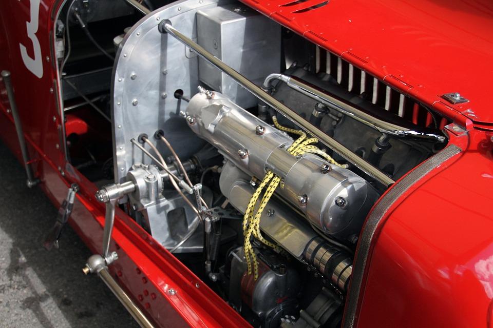 Free photo Vintage Classic Engine Goodwood Festival Race Car - Max Pixel