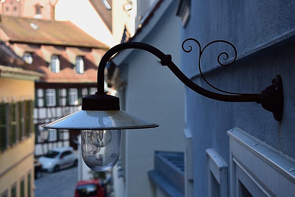 Lamp, Old Lamp, Old, Vintage, Lantern, Electricity