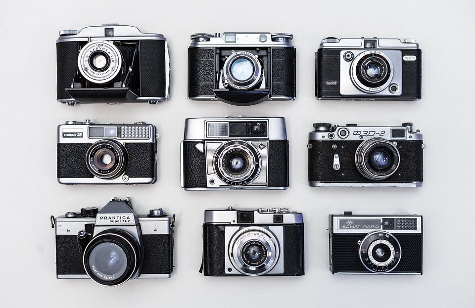 Old, Retro, Cameras, Film, Pelicula, Vintage, Classic