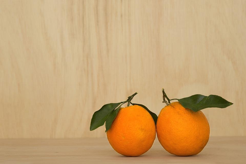 Orange Fruit, Wood, Wooden, Vintage, Nature, Food