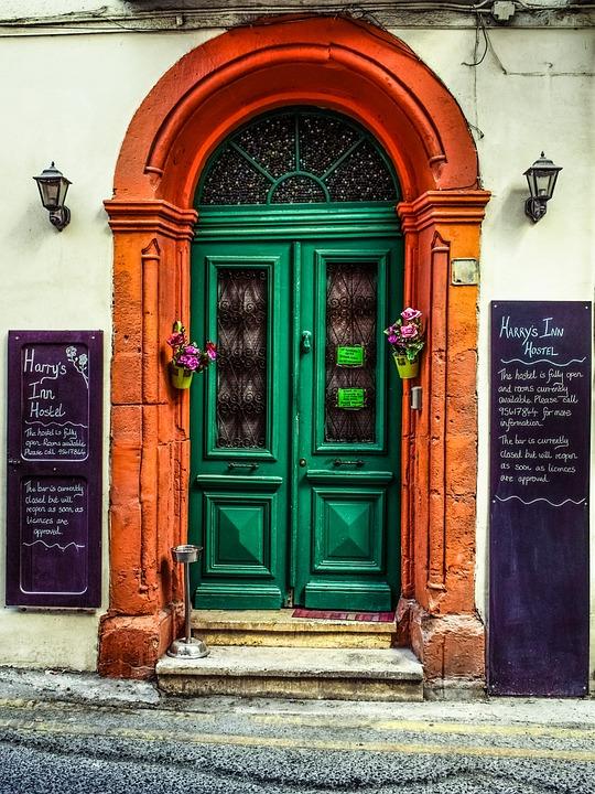 Door Wooden Vintage Old Antique Inn Architecture & Free photo Vintage Inn Door Antique Architecture Old Wooden - Max Pixel