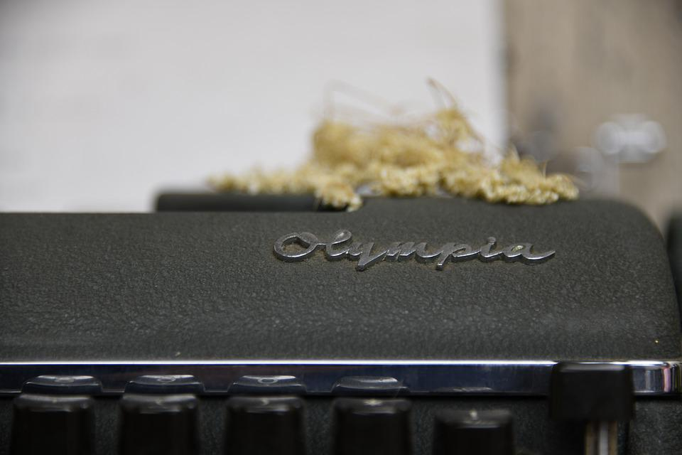 Typewriter, Office, Old, Vintage, Machine, Retro