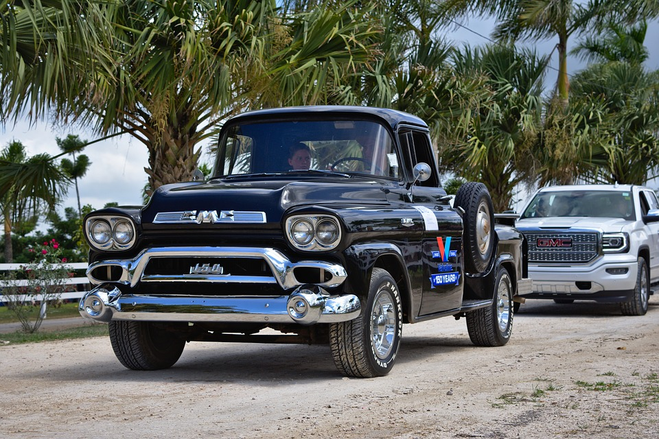 Free photo Vintage Old Antique Classic Pickup Truck Style - Max Pixel