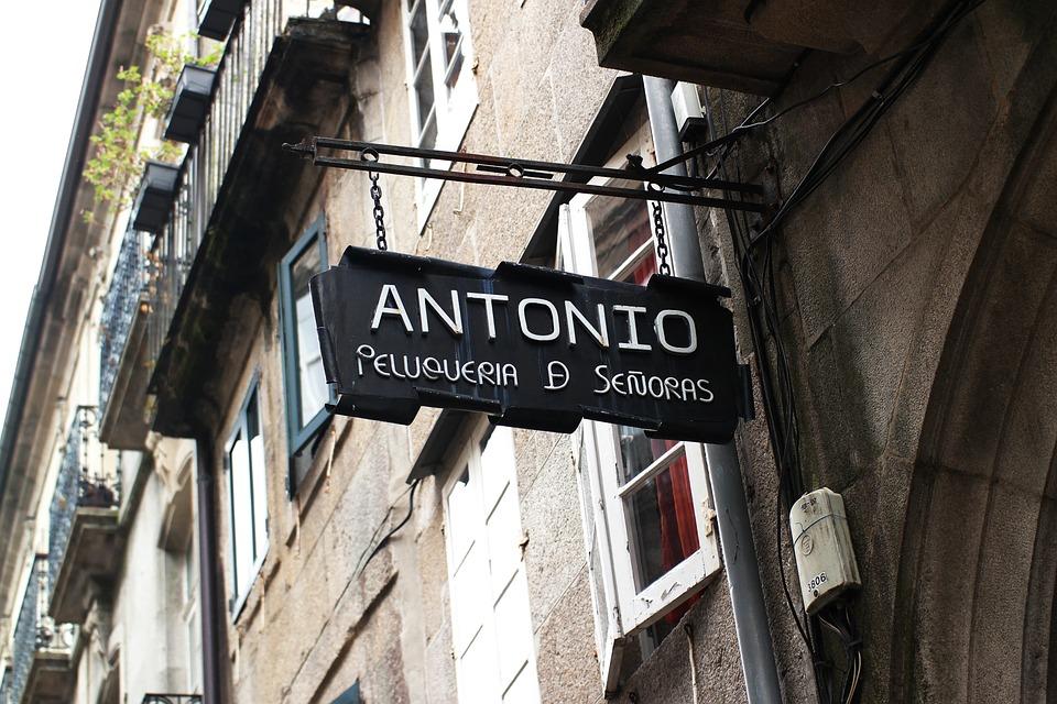 Barber Shop, Anthony, Vintage, Facade, Old, Heritage