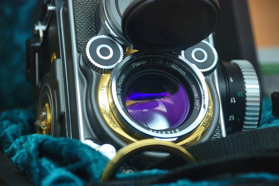 Camera, Lens, Photography, Photo, Vintage, Old, Retro