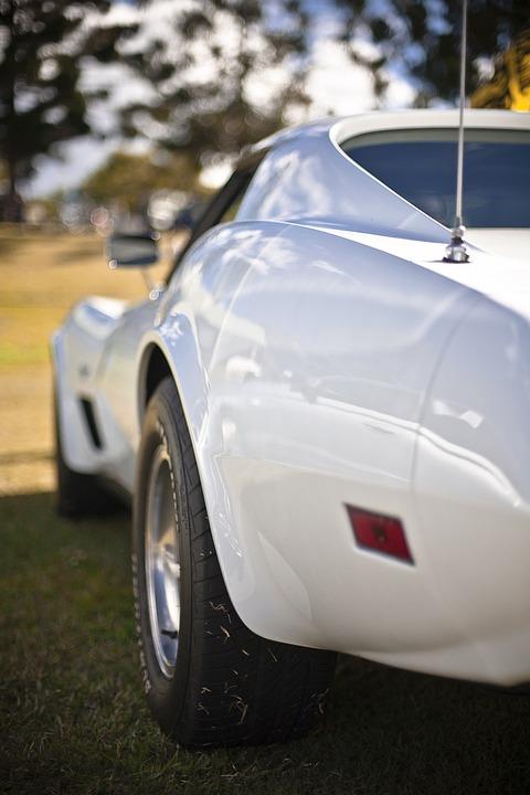 Corvette, Racing Car, Roadster, Sports Car, Vintage