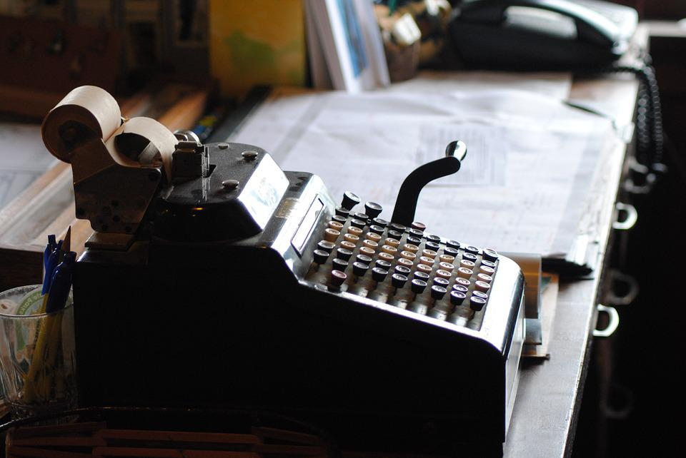 Storytelling, Typewriter, Vintage, Desk, Office