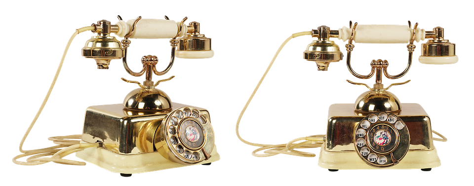 Old Phone, Phone, Link, Call, Vintage Telephone, Tube