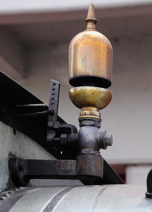 Free photo Vintage Train Whistle Whistle Valve Sound Steam