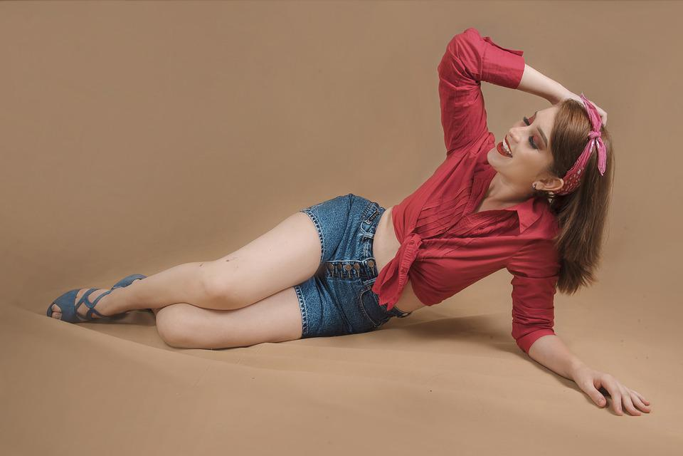 Pinup, Girl, Women, Sexy, Vintage, Model, Retro