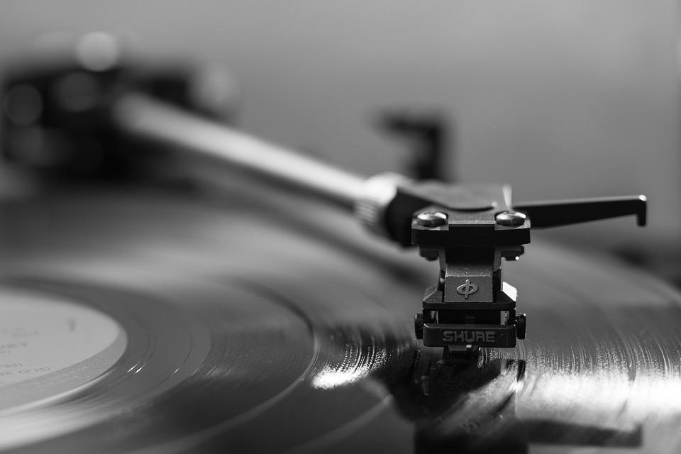 Record Player, Vinyl, Phonograph Record, Mono, Music