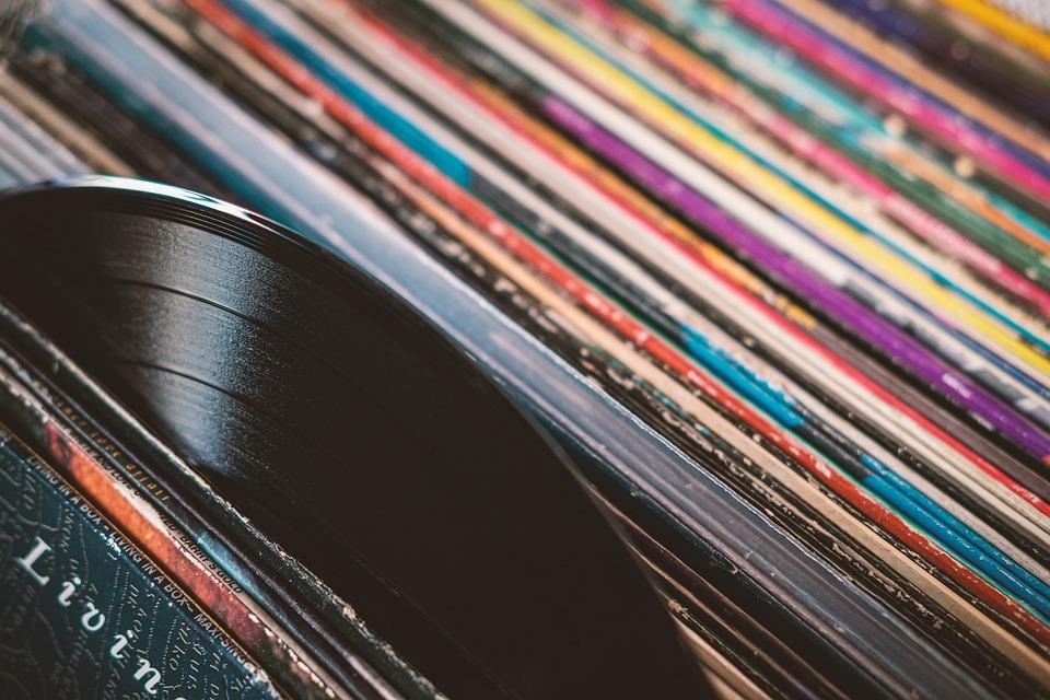 Plate, Record, Records, Vinyl, Music, Audio, Tinge