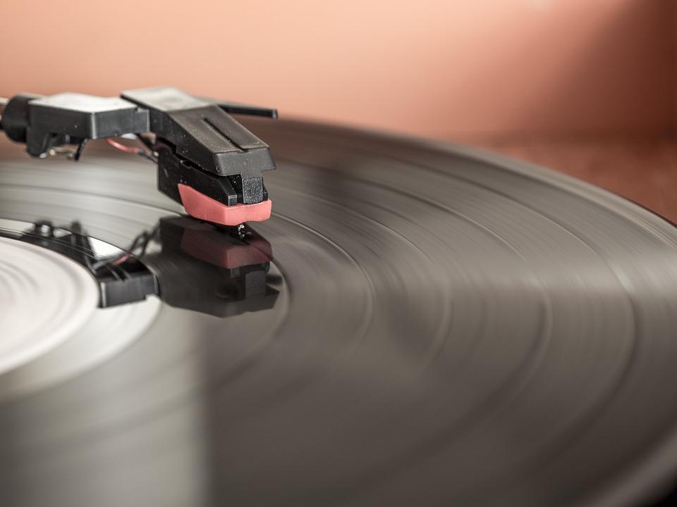 Record Player, Stylus, Phonograph Record, Vinyl, Sound