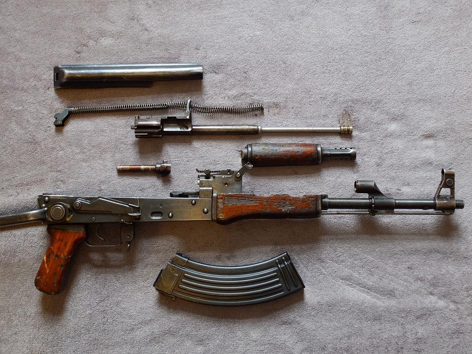 Ak47, Rifle, Terror, Terrorism, Military, War, Violent