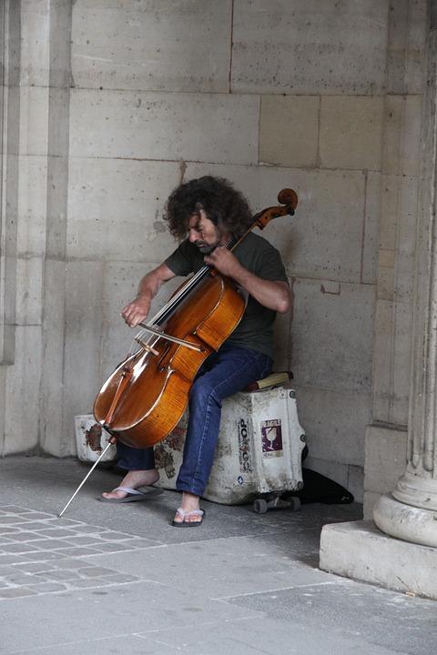 Musician, Howbow, Violin, Music