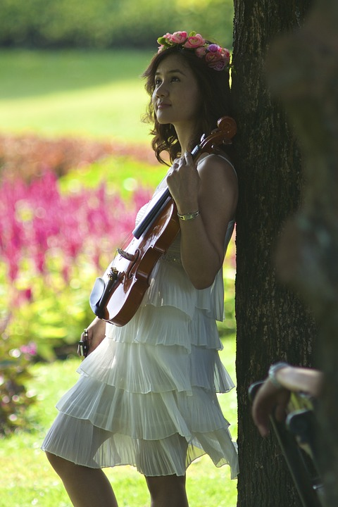 Girl, Violin, Lady, Beauty, Classical, Violinist