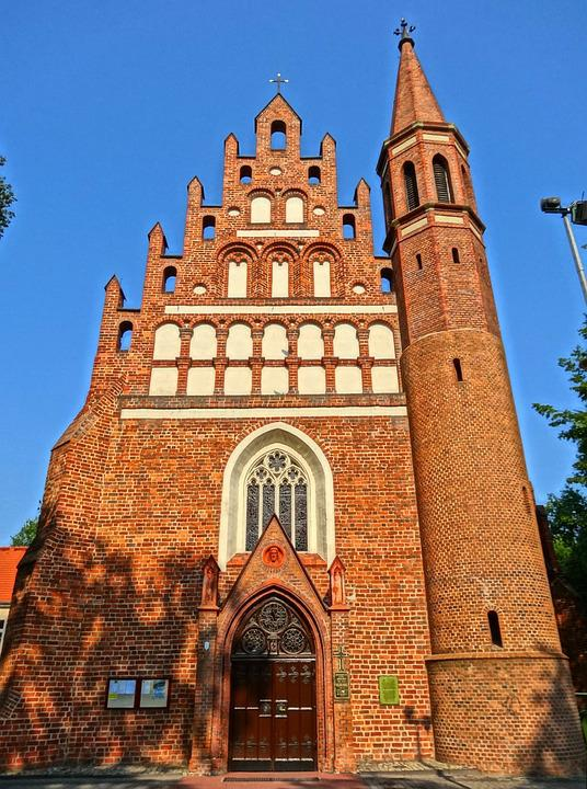 Virgin Mary Queen Of The Peace, Church, Bydgoszcz