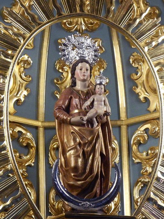 San Andrés Y Sauces, Virgin Mary, Virgin Of Montserrat