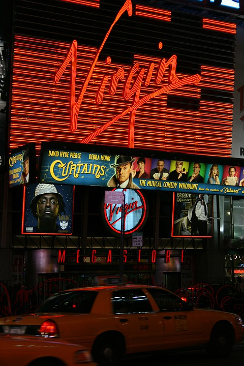 Virgin Store, Times Square, Manhattan, New York